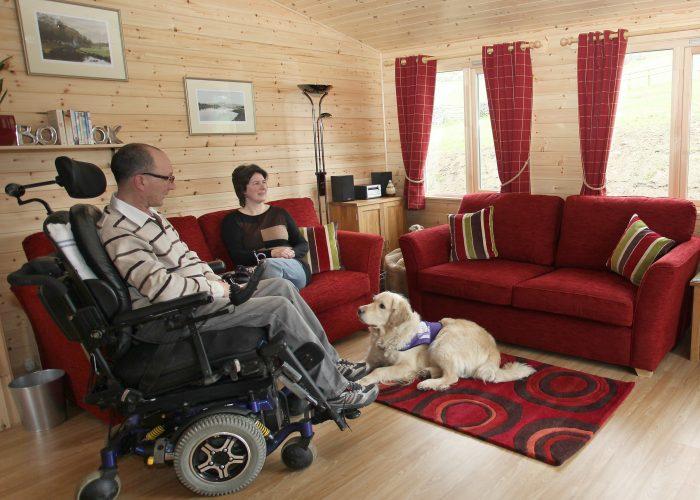 Hoe Grange Accessible Log Cabin