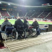 Area For Low Wheelchairs And Away Fans