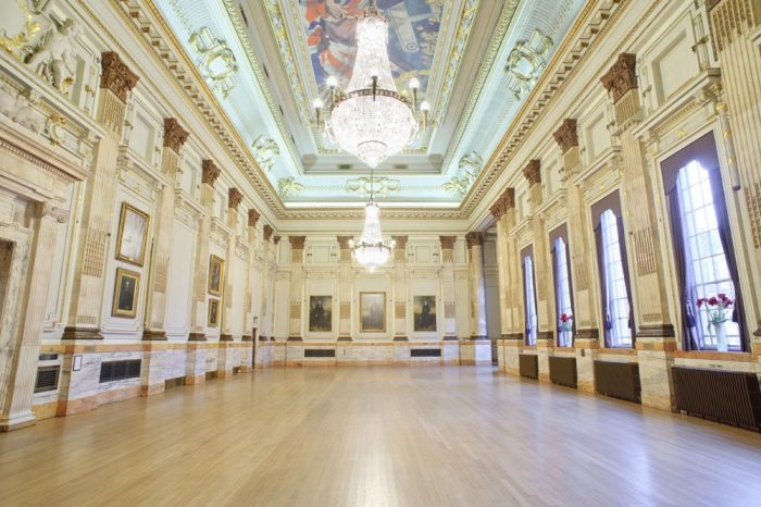 One Great George Street Great Hall Landscape
