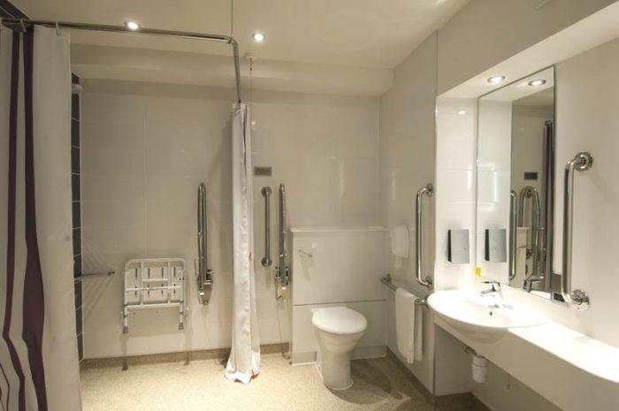 Premier Inn Example Wet Room Image